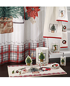 Avanti Farmhouse Holiday Bath Collection