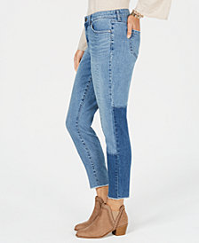 Style & Co Seam-Detailed Curvy-Fit Skinny Jeans, Created for Macy's