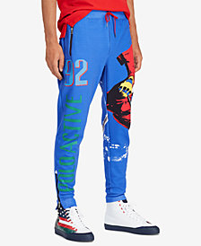 Polo Ralph Lauren Downhill Skier Men's Double Knit Tech Athletic Pants