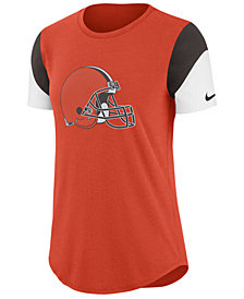 Nike Women's Cleveland Browns Tri-Fan T-Shirt
