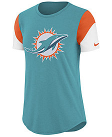 Nike Women's Miami Dolphins Tri-Fan T-Shirt