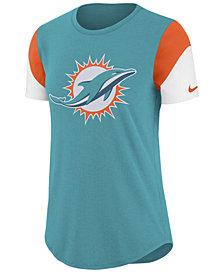 Nike Women's Miami Dolphins Tri-Fan T-Shirt