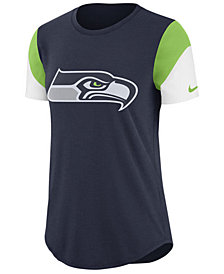 Nike Women's Seattle Seahawks Tri-Fan T-Shirt