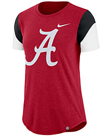 Nike Women's Alabama Crimson Tide Tri-Blend Fan T-Shirt