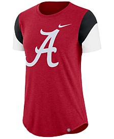 Nike Women's Alabama Crimson Tide Tri-Blend Fan T-Shirt