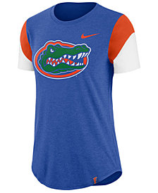 Nike Women's Florida Gators Tri-Blend Fan T-Shirt