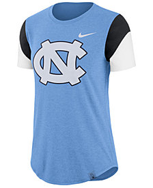 Nike Women's North Carolina Tar Heels Tri-Blend Fan T-Shirt