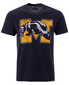 '47 Brand Men's Michigan Wolverines Throwback Club T-Shirt