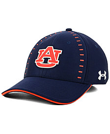 Under Armour Auburn Tigers Blitzing Flex Stretch Fitted Cap
