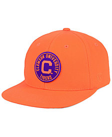 Top of the World Clemson Tigers Timey Snapback Cap