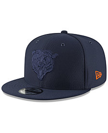 New Era Chicago Bears On Field Color Rush 9FIFTY Snapback Cap