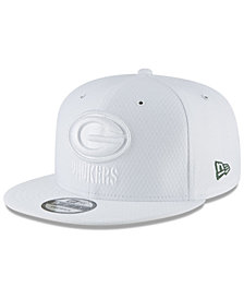 New Era Green Bay Packers On Field Color Rush 9FIFTY Snapback Cap