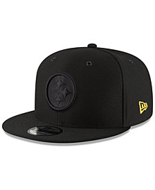 New Era Pittsburgh Steelers On Field Color Rush 9FIFTY Snapback Cap