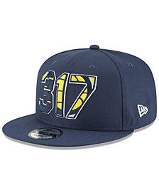 New Era Indiana Pacers Area Code 9FIFTY Snapback Cap