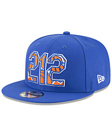 New Era New York Knicks Area Code 9FIFTY Snapback Cap