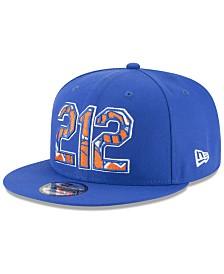 New Era New York Knicks Area Code 9FIFTY Snapback Cap