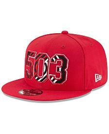 New Era Portland Trail Blazers Area Code 9FIFTY Snapback Cap