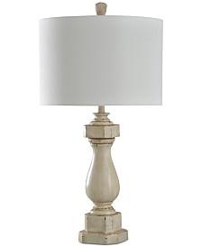 StyleCraft Old Cream Distress Table Lamp