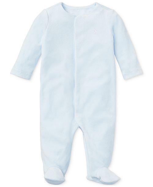Polo Ralph Lauren Ralph Lauren Baby Boys Velour Coverall
