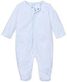 Polo Ralph Lauren Baby Boys Velour Coverall