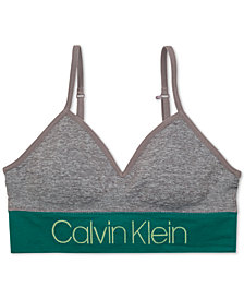 Calvin Klein Little & Big Girls Seam-Free Long-Line Bra