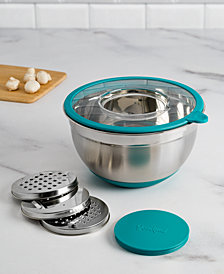 Goodful™ 5-Qt. Grater Prep Bowl, Created for Macy's