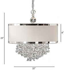 Uttermost Fascination 3-Light Hanging Shade Pendant