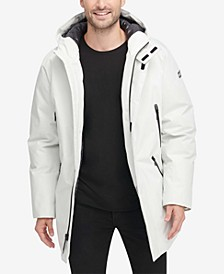 Men's Full-Length Hooded Parka, Created for Macy's