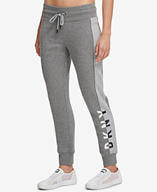 DKNY Sport Colorblocked Logo Fleece Joggers, Created for Macy's