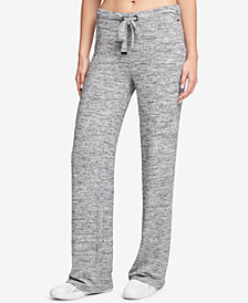 DKNY Sport Space-Dyed Wide-Leg Pants, Created for Macy's