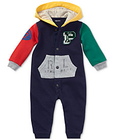 Ralph Lauren Baby Boys Colorblocked Cotton Coverall