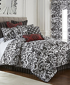 Scrollwork Duvet Cover Set Twin