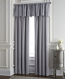 Cambric Gray Tailored Valance