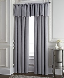 Cambric Gray Tailored Valance