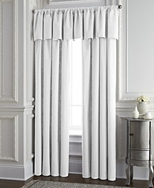 Cambric White Tailored Valance