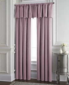 Cambric Rose Gold Tailored Valance