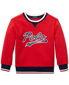 Polo Ralph Lauren Little Boys Logo Graphic Sweatshirt
