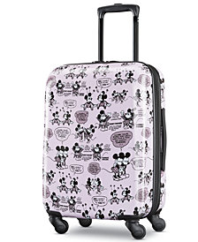 American Tourister Minnie & Mickey Mouse Carry-On Spinner Suitcase