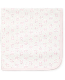 Little Me Baby Girls Bear Blanket