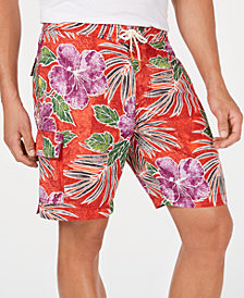 "Tommy Bahama Men's Baja Hibiscus Cove 9"" Board Shorts"