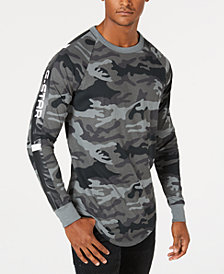 G-Star RAW Men's Long-Sleeve Camo T-Shirt, Created for Macy's