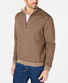 Tommy Bahama Men's Reversible Flipsider Half-Zip Sweatshirt