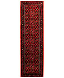 "KM Home Sanford Boukara 2'3"" x 7'7"" Runner Area Rug, Created for Macy's"