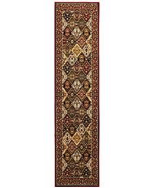 "KM Home Sanford Panel Multi 2'3"" x 7'7"" Runner Area Rug, Created for Macy's"