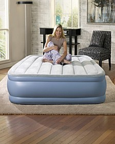 Beautyrest Hi Loft Full Size Raised Air Bed Mattress with Express Pump