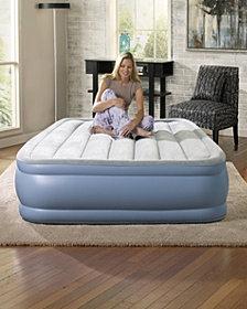 Simmons Beautyrest Hi Loft Full Size Raised Air Bed Mattress with Express Pump