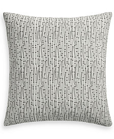 "Hotel Collection Seaglass 22"" x 22"" Decorative Pillow, Created for Macy's"