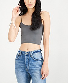 Skinny-Strap Cropped Camisole