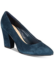 Gigi Block-Heel Pumps