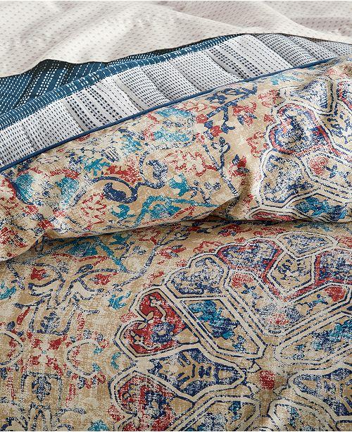 Lucky Brand Alma Reversible 3 Pc King Comforter Set